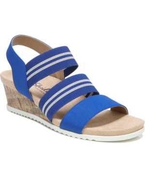 Sunshine Strappy Wedge Sandals Women's Shoes
