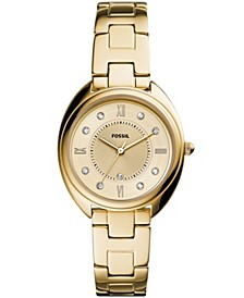 Women's Gabby Gold-Tone Stainless Steel Bracelet Watch 34mm