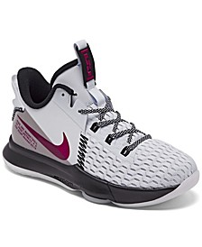 Big Kids LeBron Witness 5 Basketball Sneakers from Finish Line