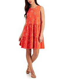 Petite Tiered Dress, Created for Macy's