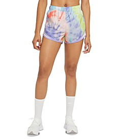 Women's Tie-Dyed Active Shorts