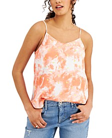 Petite Printed V-Neck Camisole, Created for Macy's