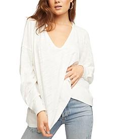 Vega Cotton Long-Sleeve Top