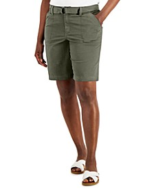 Belted Pocket Shorts, Created for Macy's
