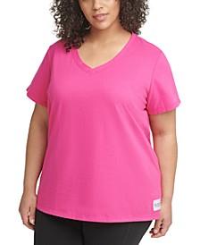 Plus Size V-Neck T-Shirt