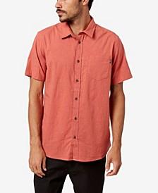 Men's Service Short Sleeves Button-Up Shirt