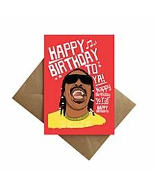 Stevie Birthday Card