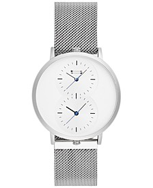 Men's Griffith Stainless Steel Mesh Bracelet Watch 43mm