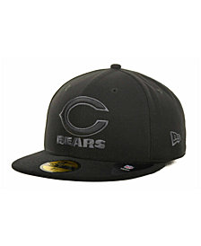 New Era Chicago Bears Black Gray 59FIFTY Cap