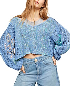 Mosaic V-Neck Sweater