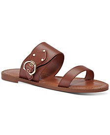 Women's Harlow Buckled Logo Sandals