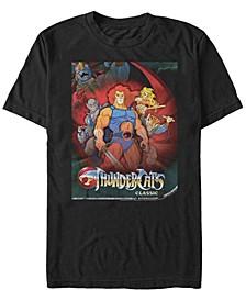 Men's Thundercats Poster Short Sleeve T-shirt