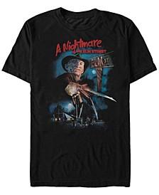 Men's Nightmare On Elm Street First Night Short Sleeve T-shirt
