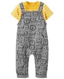 Baby Boys Tee and Coverall Set, 2 Pieces