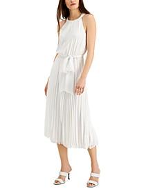 INC Chiffon Pleated Midi Dress, Created for Macy's