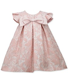 Baby Girls Floral Jacquard Trapeze Dress