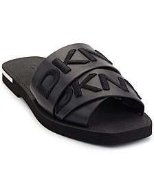 Women's Isha Logo Slide Sandals