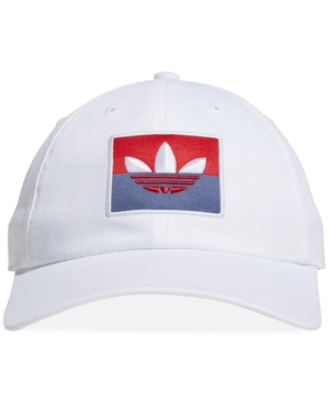 Adidas Originals Caps ADIDAS ORIGINALS MEN'S SLICE TREFOIL STRAPBACK HAT