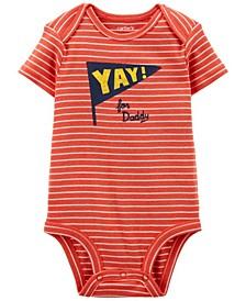 Baby Boys  Yay Daddy Original Bodysuit