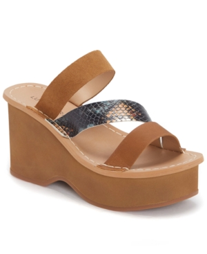 Lucky Brand WOMEN'S MIMYA WEDGE SANDALS WOMEN'S SHOES
