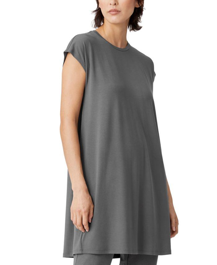 Eileen Fisher Relaxed Dress & Reviews - Dresses - Women - Macy's