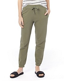 Women's Washed French Terry Classic Sweatpant
