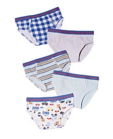 Little Boys Brief, Pack of 5
