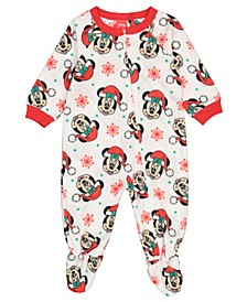Minnie Mouse Toddler Girl Blanket Sleeper