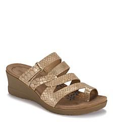 Theanna Women's Wedge Slide Sandal