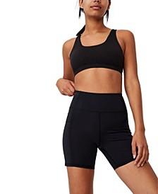 Women's Lifestyle Pocket Bike Shorts