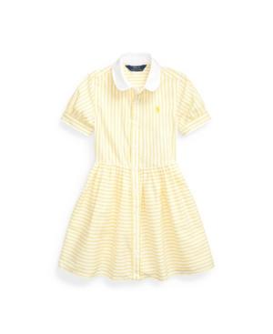 Polo Ralph Lauren Dresses TODDLER GIRLS STRIPED SHIRTDRESS