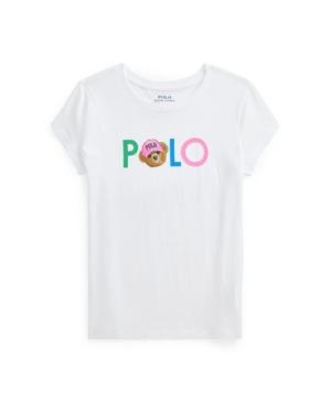 Polo Ralph Lauren Tops BIG GIRLS POLO BEAR LOGO JERSEY TEE