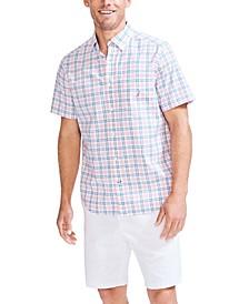 Men's Big & Tall Plaid Poplin Shirt