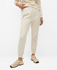 Women's Elastic Waist Cotton Pants