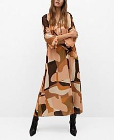 Women's Flowy Printed Dress