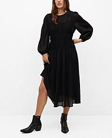 Women's Flowy Pleated Dress