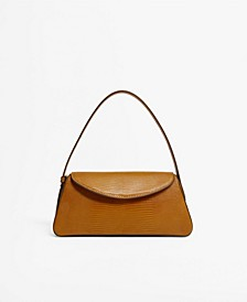 Women's Baguette Flap Saddle Bag
