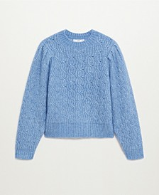 Women's Knitted Braided Sweater