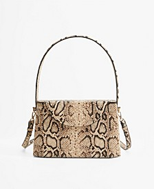 Women's Rigid Snake Crossbody Bag