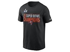 Tampa Bay Buccaneers Men's Super Bowl LV Field Goal Multichamp T-Shirt