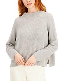 Organic Cotton Funnel-Neck Sweater
