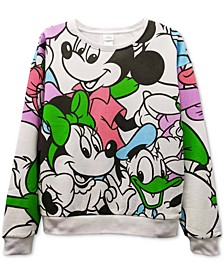 Juniors' Mickey Mouse & Friends Graphic Sweatshirt