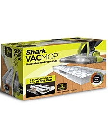 VACMOP™ Disposable Hard Floor Pad Refills, Box of 10