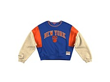 Women's New York Knicks Colorblocked Sweatshirt