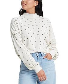 Women's Nina Mock Neck Sweatshirt