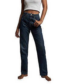 Women's Long Straight Jeans