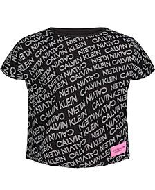 Big Girls Exploded Logo T-shirt
