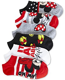 Disney's® 6-Pack No-Show Socks, Little Girls & Big Girls