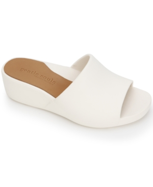by Kenneth Cole Women's Gisele Wedge Slide Sandals Women's Shoes