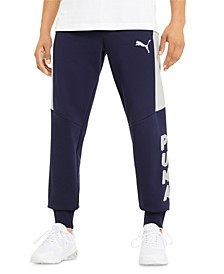 Men's Blue Modern Sports Pants